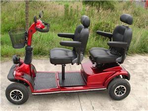 老人用双人电动代步车