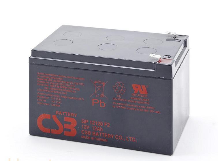 CSB蓄电池GP12120