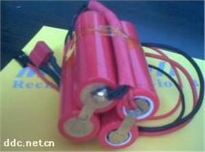 7.4V4ah电池 18650电池组 7.4V锂电池