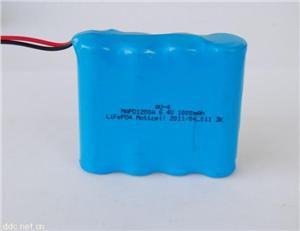 6.4V铁锂电池组 14500铁锂电池组