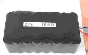 锂电池24V10Ah