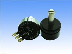 精密导电塑料角度位移传感器:WDJ22C