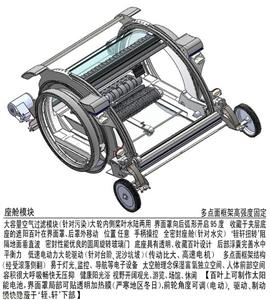 防雾霾保健电动车