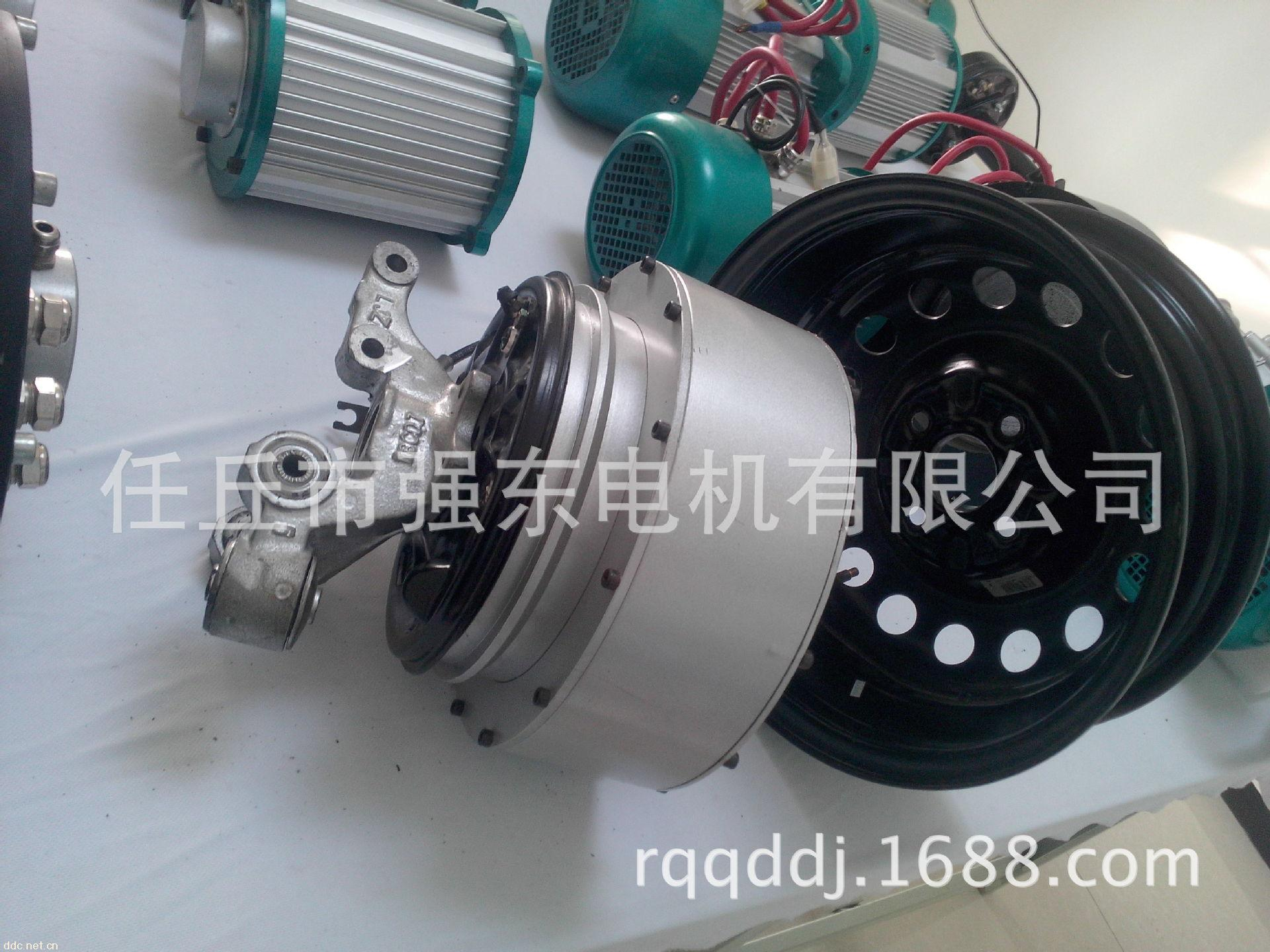 电动汽车轮毂电机 河北省任丘市强东电机有限 高清图片