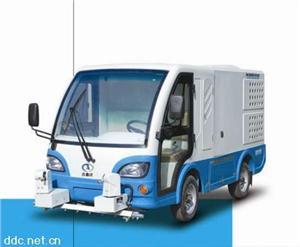 电动高压冲洗洗地车
