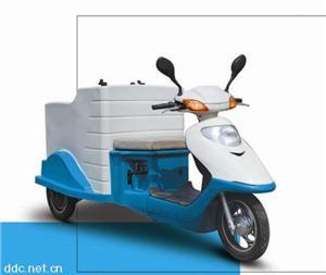电动三轮挂桶车