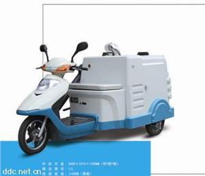 电动三轮装桶车