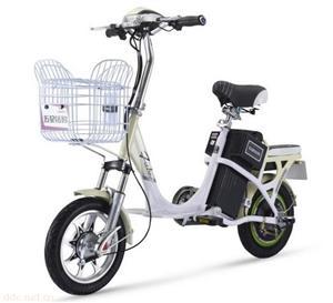 48V五星钻豹平安豹简易电动自行车