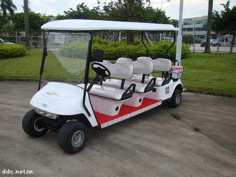 六+二座电动高尔夫球车