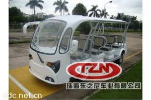 新款十一座电动观光车