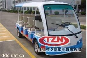 十一座电动观光车