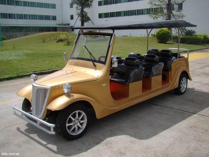 低碳新款八座电动老爷车