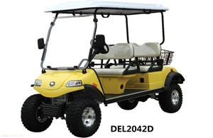 戴尔乐DEL2042D4座电动打猎车