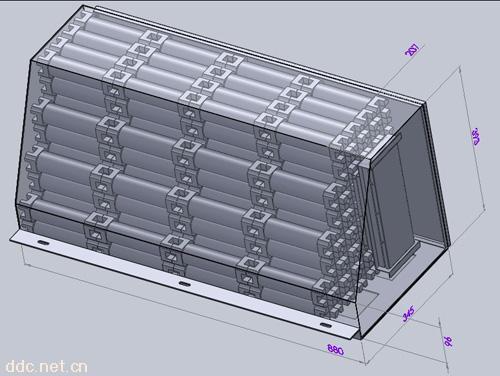 54ah三元汽车动力电池系统