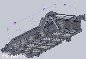 320V 66Ah磷酸铁锂汽车电池集成系统