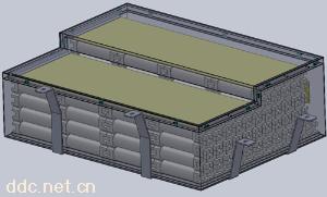 80V 150Ah磷酸铁锂汽车电池集成系统
