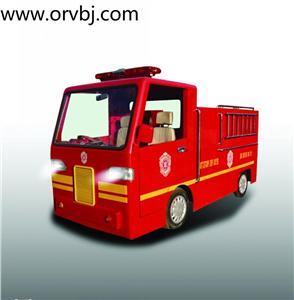 儿童体验消防车