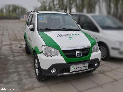 众泰电动汽车5008ev 上海飞马车业有限公司高清图片