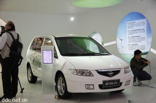 海马 普力马EV 电动汽车 新能源电动观光车高清图片