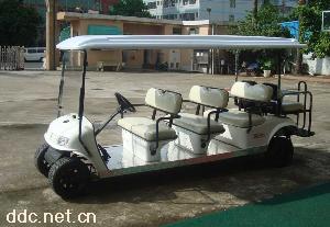 景区专用12座电动观光车