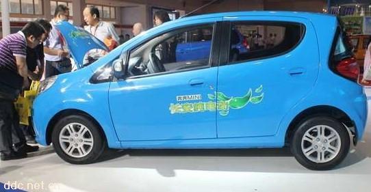 长安奔奔电动汽车 上海易玮电动车有限公司 -长安奔奔电动汽车高清图片