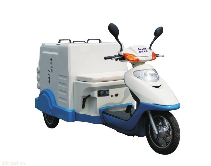 电动三轮挂桶车(玻璃钢)bh3zt-0150b