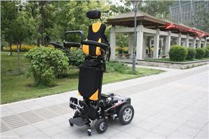 威之群升降站立式电动轮椅车