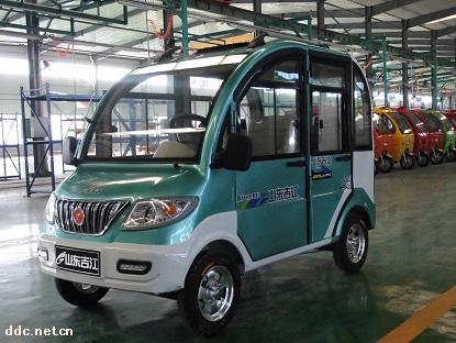 都市飞马 四门 电动客货车 山东吉江新能源汽车制造有限公高清图片