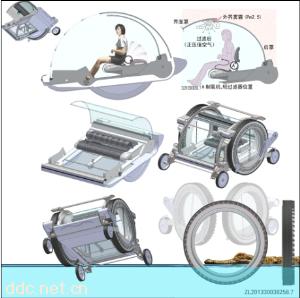 防水两栖电动车