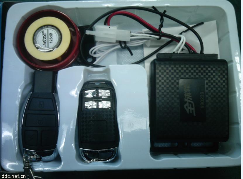 一键通语音锁电机防盗报警器