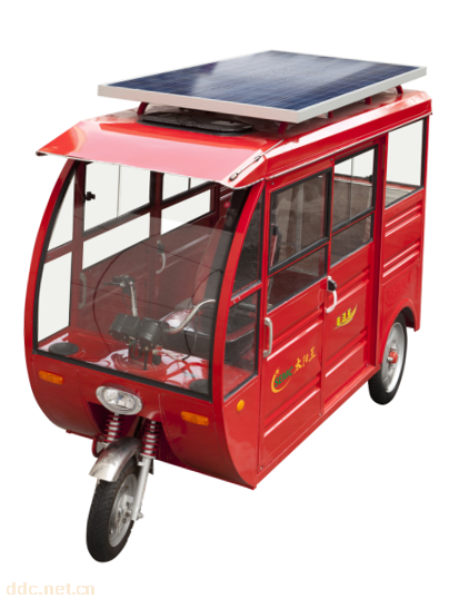 太阳王太阳能三轮车