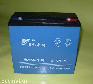 供应天能电动车蓄电池电瓶