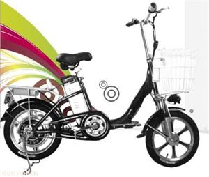 比德文16寸BL03小豆豆锂电动自行车