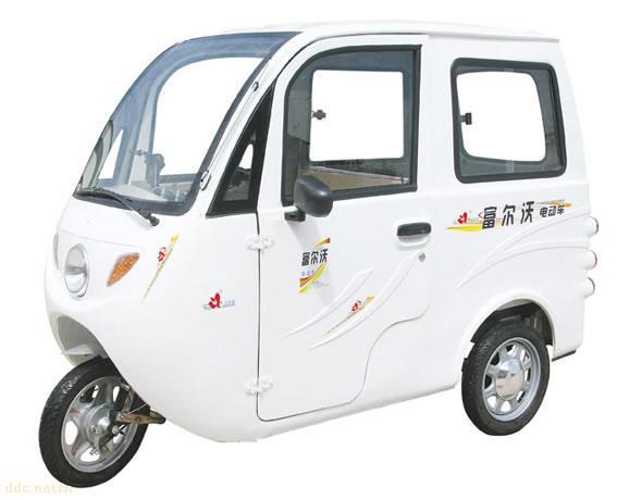 富尔沃电动三轮车,电动休闲三轮车