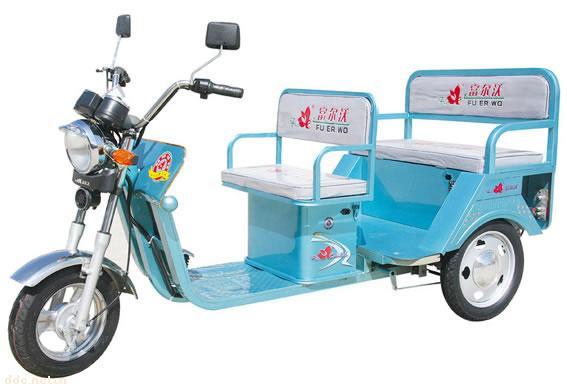 富尔沃电动三轮车,载客电动三轮车,老年休闲三轮车