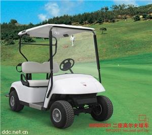 速派奇2座白色电动高尔夫球车