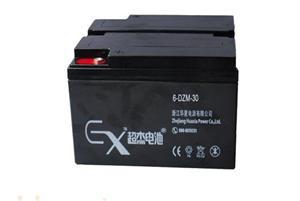 超杰6-DZM-30电动车专用铅酸蓄电池
