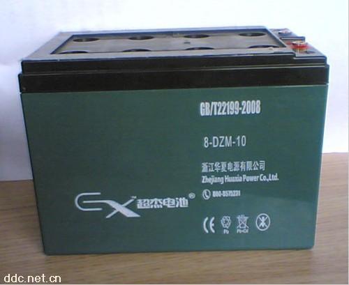 超杰8-DZM-10电动车铅酸蓄电池