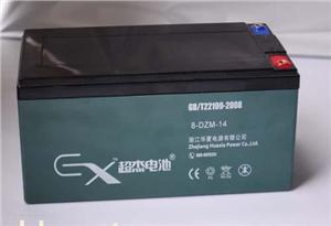 超杰8-DZM-14电动车铅酸蓄电池