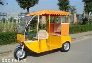 乘风三轮带顶棚载客电动三轮车