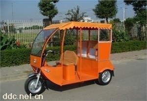 乘风带顶棚式载客电动三轮车