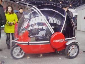 小水滴时尚电动三轮车