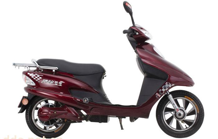 韩铃世纪公主豪华款电动摩托车