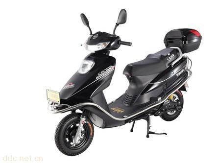 48v60v千里猫皇五羊公主黑色款电动摩托车