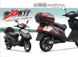 无锡新一代大平果电动摩托车生产厂家