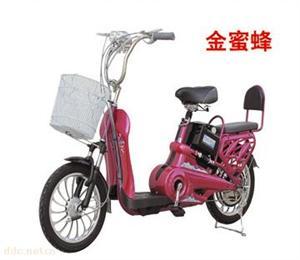 金蜜蜂简易款48V电动自行车