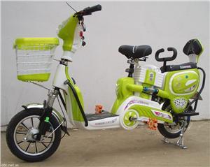 盛扬热恋时尚款350W电动自行车