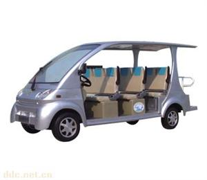 景区社区用盛扬12座电动观光车