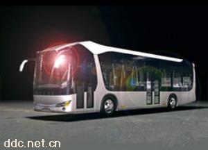 陆地方舟电动车 RQ6100GCH4公交客车
