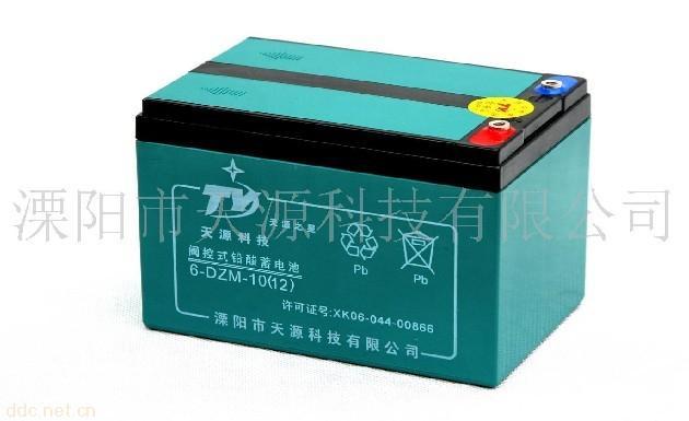 """""""天源之星""""6-DZM-10铅酸蓄电池"""